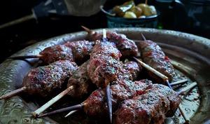 Kefta de mouton grillée à la marocaine