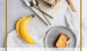 Banana bread à la noisette