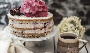 Naked Cake Vegan coco framboise