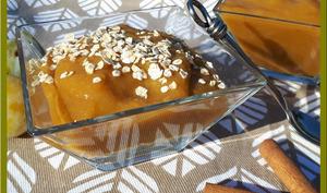 Compote de prunes, pommes et cannelle