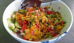 Bombay mix salade