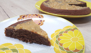 Banana brownie healthy et sans oeuf