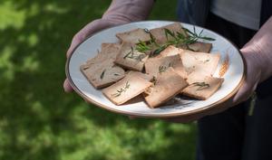 Crackers épeautre et sarriette