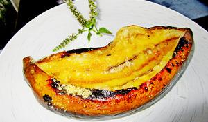 Bananes marinées au rhum ambré