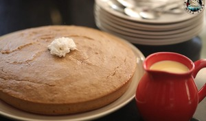 Gâteau au brocciu amandes à la farine de châtaigne