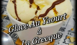 Glace au yaourt à la grecque