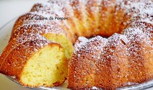 Gâteau léger à la confiture de figues