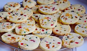 Arlecchini, biscuit italien aux fruits confits