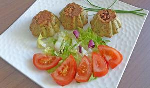 Gâteau de haricots verts au mascarpone