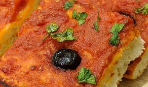 Pizza carrée ou pizza algérienne