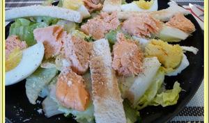 Salade césar de la mer
