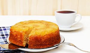 Gâteau à l'ananas sans gluten