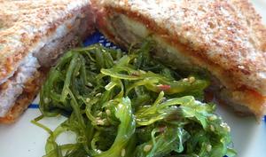 Tonkatsu sando - sandwich japonais
