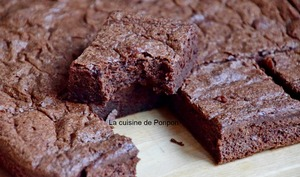 Fondant au chocolat sans gluten, sans glucose, sans lactose et sans fructose