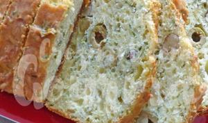 Cake au fromage et aux herbes