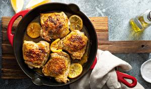 Blancs de poulet au citron