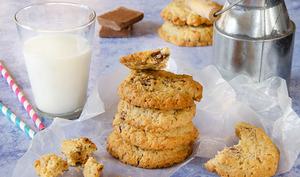 Cookies avoine chocolat au lait