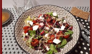 Salade de riz noir