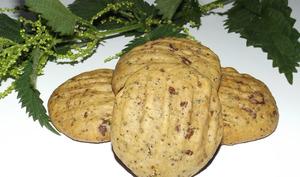 Cookies au chocolat et graines d'ortie