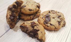 Cookies à l'huile d'olive et chocolat noir