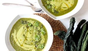 Soupe toute verte