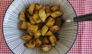 Pommes de terre rôties au pesto rouge