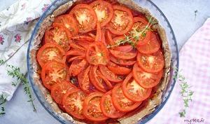 Une tarte aux tomates ultra facile et originale