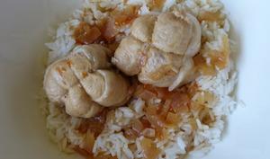 Paupiettes de poulet à la sauce aux agrumes