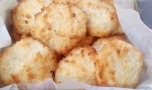 Biscuits aux blancs d'oeuf à la noix de coco