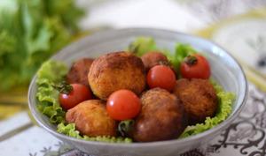 Falafels aux patates douces
