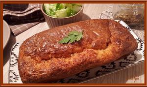 Cake au Bacon et à l'Emmental