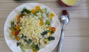 Légumes à la semoule de couscous