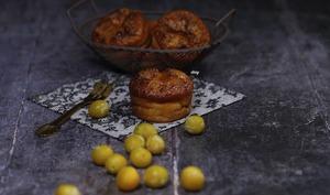 Muffins ricotta mirabelles