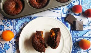 Moelleux au chocolat et à l'abricot