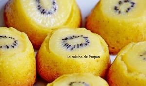 Muffin aux kiwis et poires