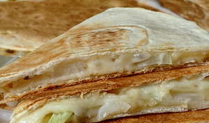 Quesadillas au Fromage.