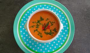Soupe de tomate italienne au mascarpone
