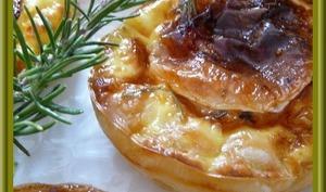 Tartelettes au chèvre miel et romarin