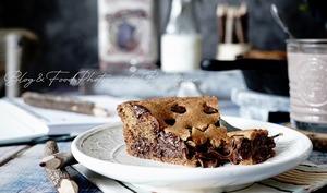 Le meilleur Cookie géant au nutella et pepites de chocolat