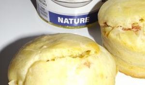 Muffins salés allégés au Skyr