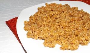 Couscous à la sauce marocaine
