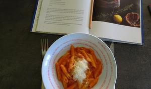 Pâtes aux tomates et anchois