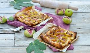 Tartelettes fines aux figues