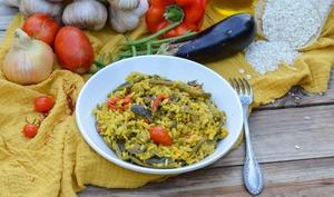 Riz aux légumes façon paëlla