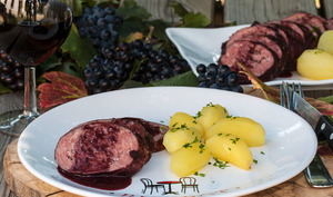 Saucisson vigneron au gène du Beaujolais