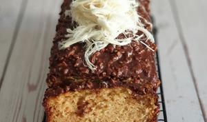 Cake Chocolat Cacahuètes au Halva