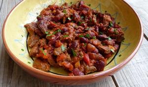 Chili con carne au paprika fumé