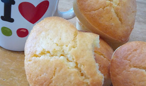 Les petits gâteaux au jus de citron