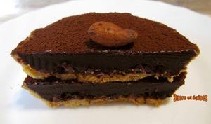 Tartelettes au chocolat et fèves de cacao - sucreetepices.over-blog.com