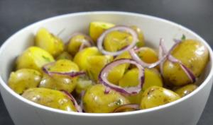 Salade de grenailles à la vinaigrette